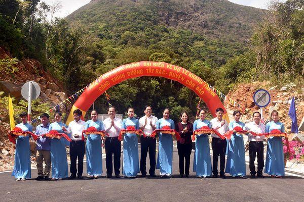 Huyện Côn Đảo: Khánh thành và đưa vào sử dụng 10 km đường Dự án tuyến đường Tây Bắc giai đoạn 1