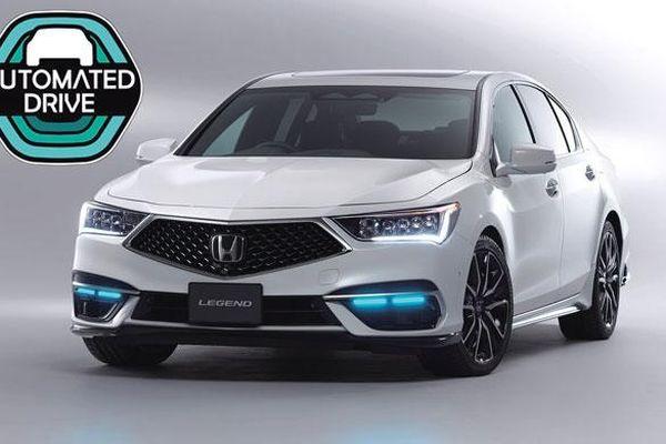 Honda Legend trở thành mẫu ô tô đầu tiên trên thế giới đạt chứng nhận tự hành cấp độ 3