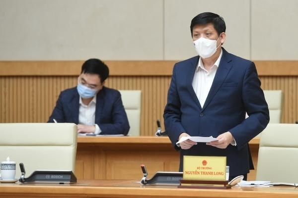 Bộ trưởng Nguyễn Thanh Long: Dự kiến ngày 8/3 sẽ tiêm vắc xin COVID-19 mũi đầu tiên
