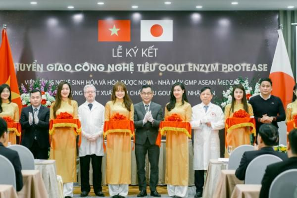 Lễ ra mắt TPBVSK Sangu - Tinh chất tiêu gout Nhật Bản
