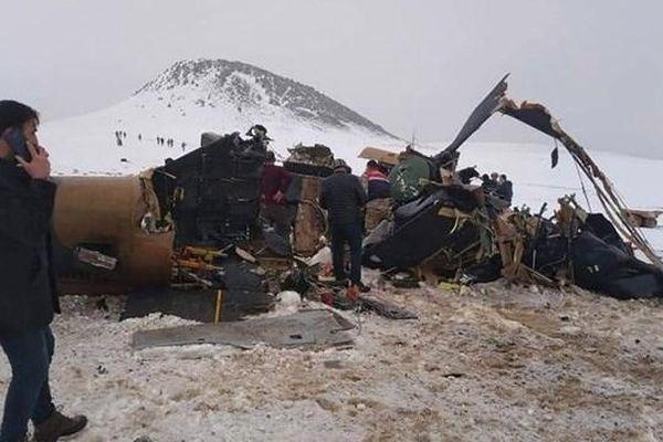 Rơi máy bay quân sự tại Thổ Nhĩ Kỳ, nhiều người thiệt mạng