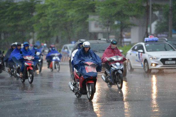 Chiều tối và đêm 6/3, các khu vực đều có mưa và dông, Bắc Bộ và Bắc Trung Bộ trời rét