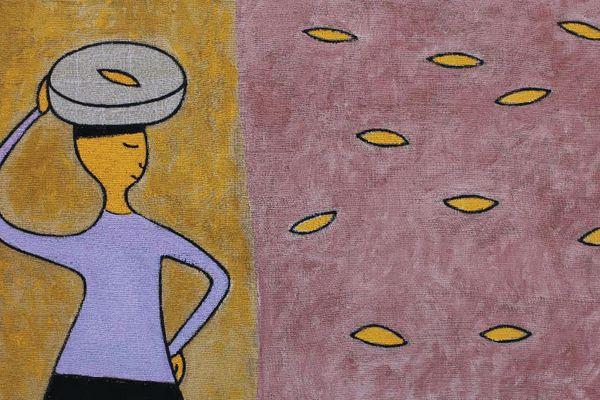 'Về bến lạ' của họa sĩ Lê Thiết Cương: Chắt lọc trên con đường tối giản
