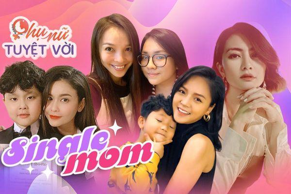 8/3: Những 'mẹ đơn thân' không chỉ xinh đẹp mà còn vô cùng tài giỏi của showbiz Việt