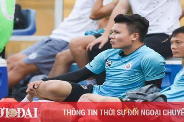 Tin tức Bóng đá Việt Nam ngày 7/3: Quang Hải chấn thương dây chằng trước trận gặp Hải Phòng