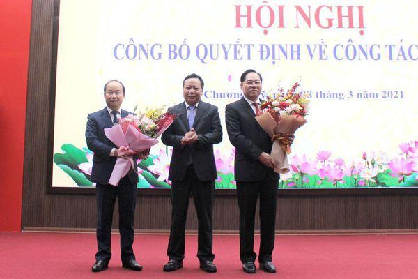 Phó Giám đốc Sở Nội vụ Nguyễn Đình Hoa được giới thiệu bầu làm Chủ tịch huyện Chương Mỹ