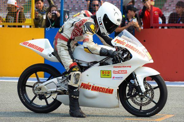 Chi tiết xe đua Moto3 Honda NSF250R tại Việt Nam