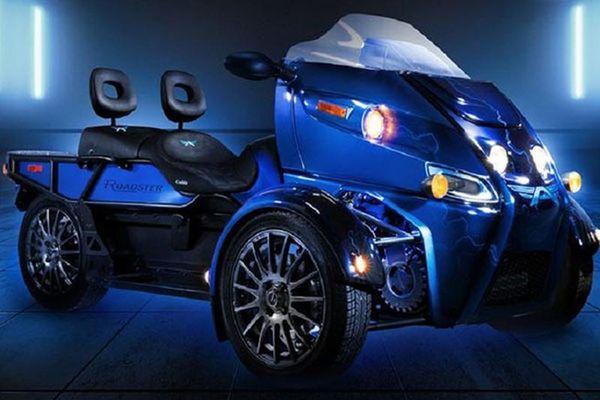 Arcimoto Roadster - 'quái vật ba bánh' chạy điện 551 triệu đồng