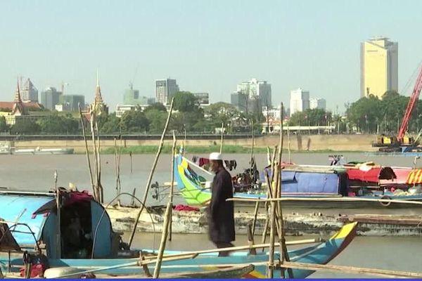 Campuchia cạn nguồn ở sông Mekong