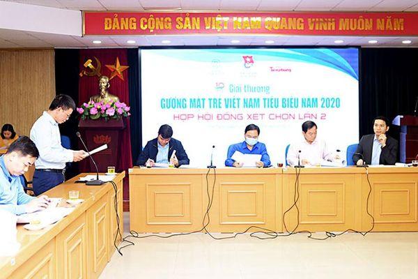 Công bố các Gương mặt trẻ Việt Nam tiêu biểu và triển vọng năm 2020