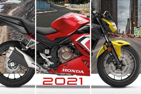 Honda CBR650R, CBR500R và CB500F 2021 từ 179 triệu tại Việt Nam