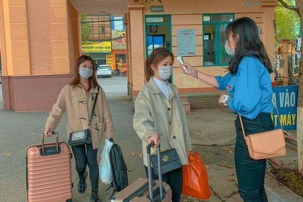 Hơn 13 nghìn sinh viên Đại học Thái Nguyên trở lại trường