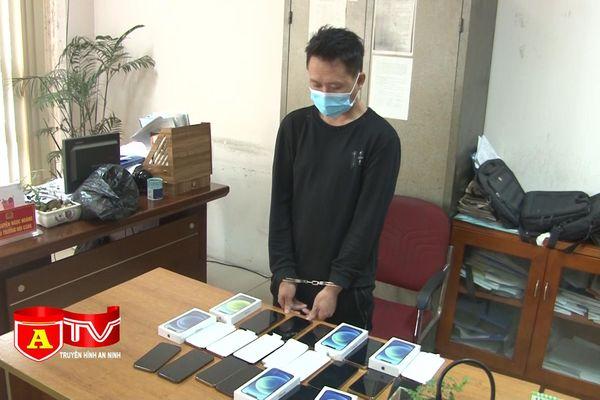 Đột nhập trộm cắp 30 chiếc điện thoại trị giá gần 1 tỷ đồng