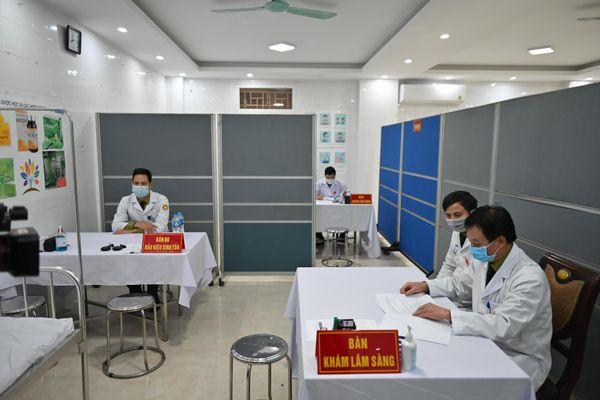 Đã tiêm xong mũi 1 giai đoạn 2 vaccine NanoCovax cho 560 tình nguyện viên