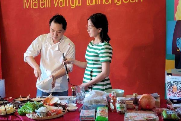 Xúc tiến thương mại qua Liên hoan ẩm thực Pháp ngữ tại Singapore
