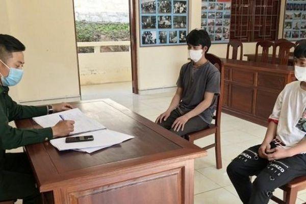 Liên tiếp phát hiện người vượt biên trái phép từ Lào về Quảng Nam