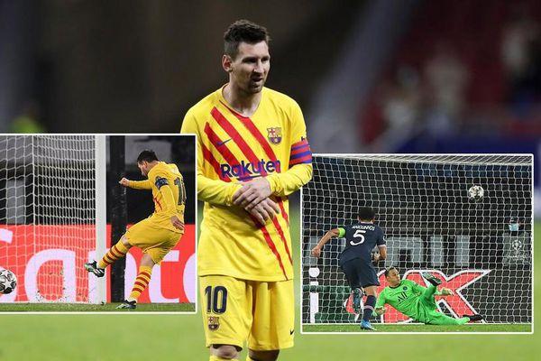 Messi đá hỏng penalty, Barca bị loại khỏi Champions League