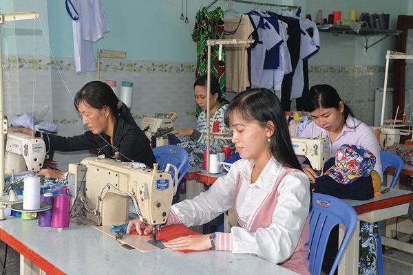 Phụ nữ Châu Thành phát triển kinh tế, giảm nghèo bền vững