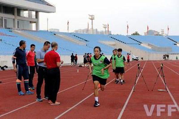 Tổng kiểm tra thể lực trọng tài giải nữ và giải trẻ quốc gia 2021