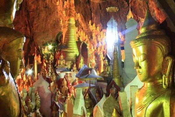 Bí mật của những ngôi chùa linh thiêng ở Myanmar