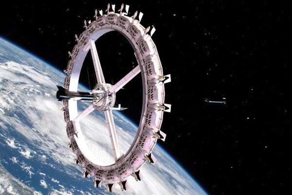 Mô hình khách sạn đầu tiên ngoài vũ trụ