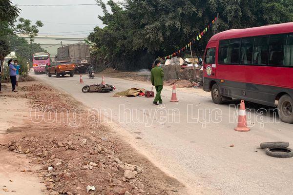 Bắc Giang: Truy tìm lái xe gây tai nạn chết người rồi bỏ chạy