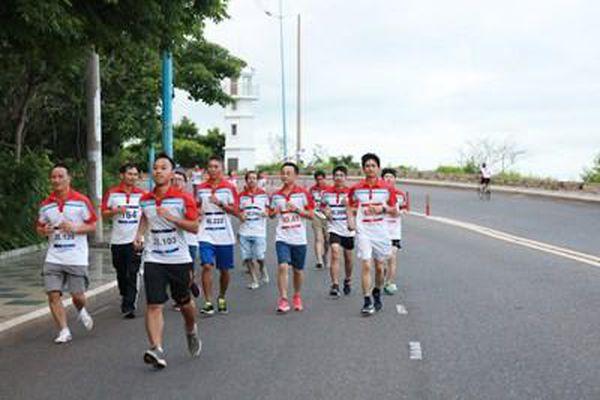 Gần 200 vận động viên tham gia giải chạy bộ tích lũy KVT RUN UPRACE 2021
