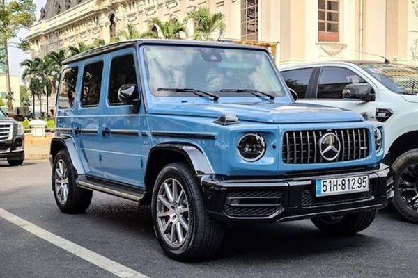 Cường Đô la 'bát phố' cùng Mercedes-AMG G63 hơn 12 tỷ đồng