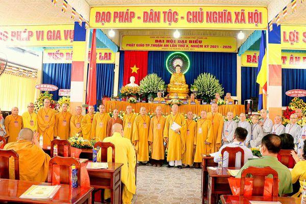 Bình Dương: Đại hội đại biểu Phật giáo TP.Thuận An lần thứ X