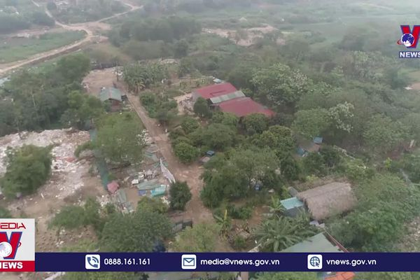 Hà Nội: Nóng mua bán đất nông nghiệp xây nhà ven sông Hồng