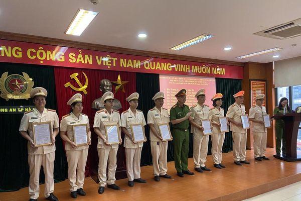 Triển khai 2 đơn vị mới thuộc Văn phòng Cơ quan Cảnh sát điều tra Công an Hà Nội