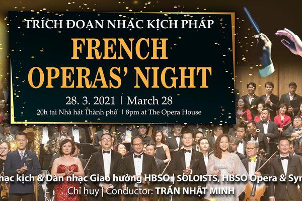 Chương trình Nhạc kịch Pháp mở đầu mùa diễn 2021 của HBSO