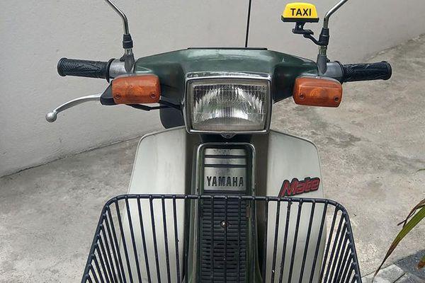 Cận cảnh Yamaha Mate 50 'hàng hiếm' hơn 30 triệu tại Nha Trang