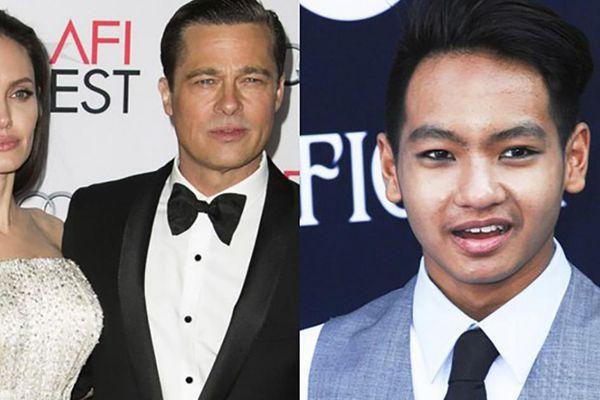 Con trai gốc Campuchia 'hợp sức' với Angelina Jolie chống lại Brad Pitt