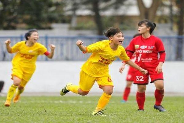 Giải bóng đá nữ Vô địch U19 Quốc gia 2021: Nhà vô địch bị thua sốc