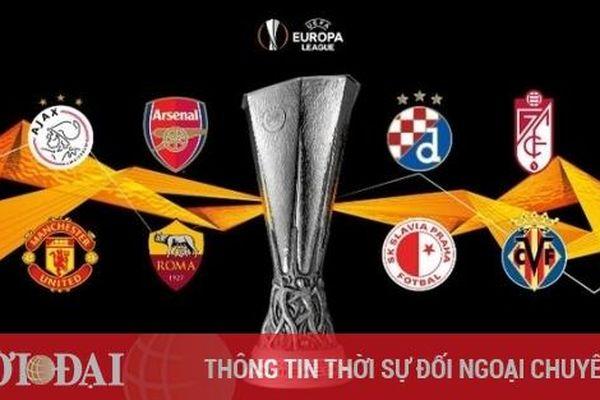 8 đội mạnh nhất vào tứ kết Europa League 2020/21: MU sáng cửa vô địch