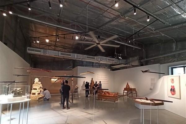 Đối thoại '4 chiều' với điêu khắc đương đại