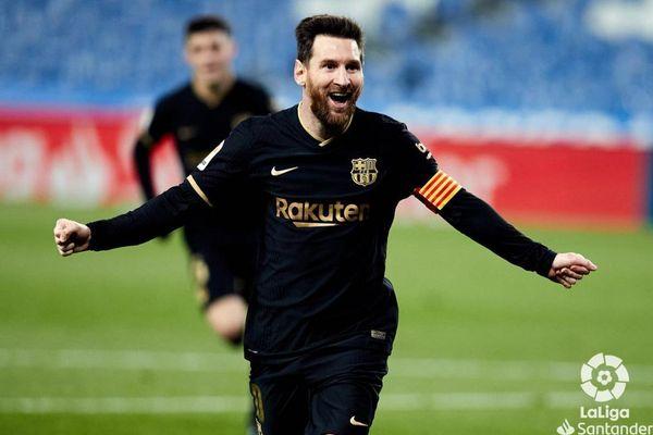 Messi bùng nổ, Barca trút mưa bàn thắng lên Sociedad
