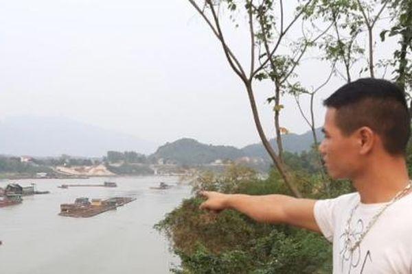 Sông Lô lại dậy sóng khai thác cát, dân khóc ròng vì cá chết hàng loạt