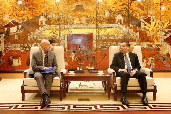 Italia sẵn sàng hỗ trợ Hà Nội tổ chức các sự kiện văn hóa tầm quốc tế