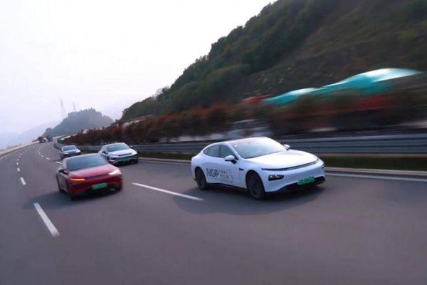Xpeng thử nghiệm xe tự hành bằng hành trình xuyên 6 tỉnh Trung Quốc