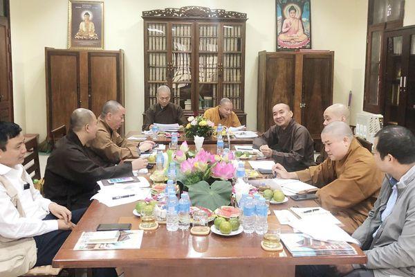 Ban Thông tin - Truyền thông Trung ương sẽ tổ chức tập huấn tại chùa Từ Đàm