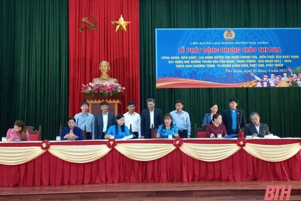 Huyện Thọ Xuân chung sức hiện thực hóa khát vọng xây dựng quê hương Thanh Hóa văn minh, thịnh vượng
