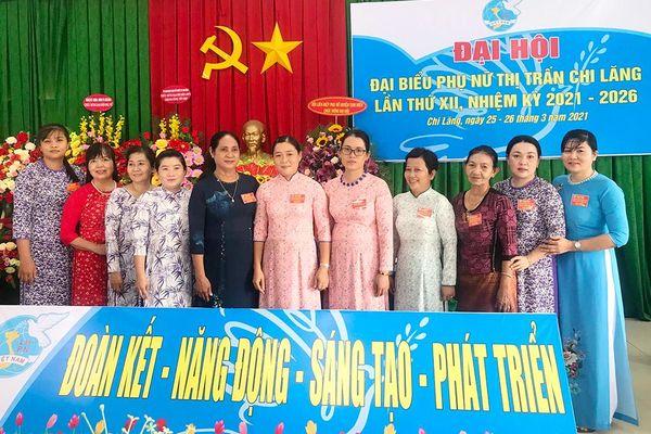 Đại hội Hội Liên hiệp Phụ nữ thị trấn Chi Lăng (nhiệm kỳ 2021-2026)