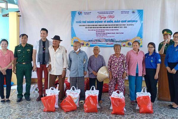 Ngày hội 'Tuổi trẻ hành động vì biển, đảo quê hương'