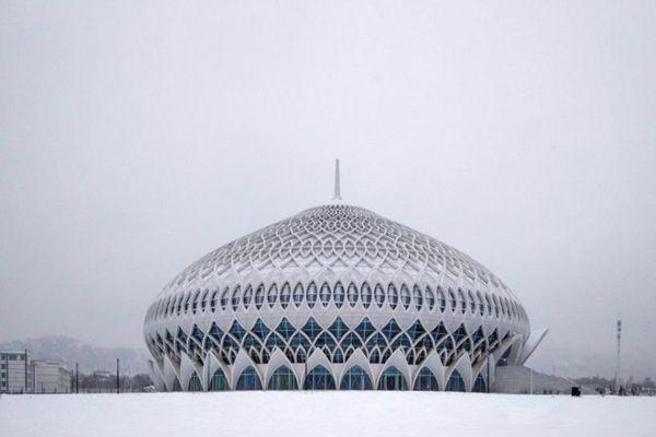 Khám phá nhà hát khổng lồ mang dáng dấp nhà thờ Hồi giáo ở Trung Quốc