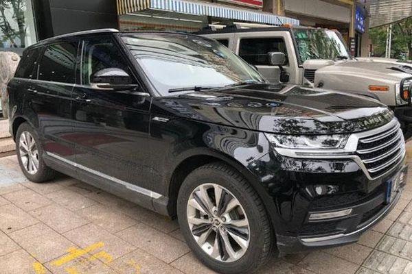 Range Rover nhái tại Trung Quốc có giá chỉ từ 569 triệu đồng