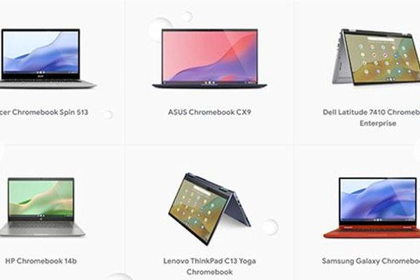 Chromebook lên 10
