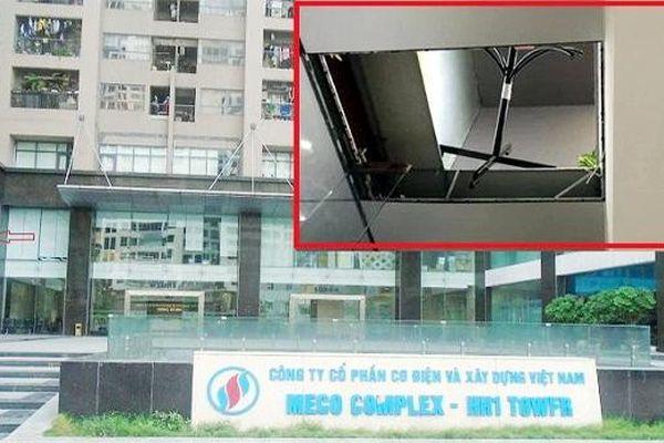 Vụ sập trần nhà tại dự án Meco Complex: Chủ đầu tư nhiều lần bị phạt