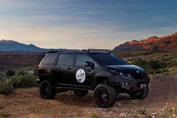 Toyota UUV - xe địa hình cơ bắp độ từ Sienna và Tacoma